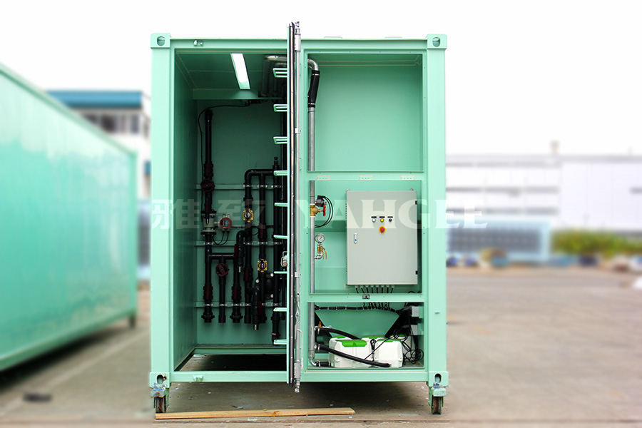 Containerized Sewage Treatment Station