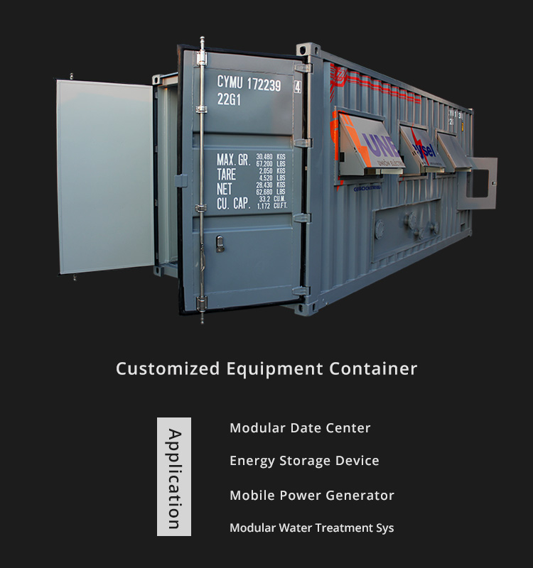 Offshore Oil Platform Container
